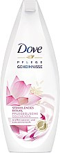 "Profumi e cosmetici Gel doccia ""Fiore di loto"" - Dove Nourishing Secrets Brightening Shower Gel"