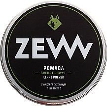 Profumi e cosmetici Pomata per capelli all'acqua con carboncino - ZEW Pomade For Men