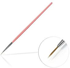 Profumi e cosmetici Pennello per gioielli 6 mm Pink - Silcare Brush 0
