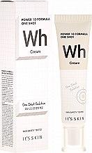 Profumi e cosmetici Crema levigante - It's Skin Power 10 One Shot WH Cream