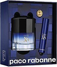 Profumi e cosmetici Paco Rabanne Pure XS - Set (edt/50ml + edt/mini/10ml)