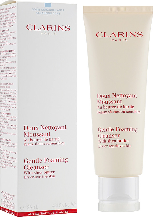 Detergente - Clarins Gentle Foaming Cleanser with Shea Butter