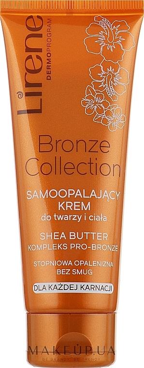 Crema-abbronzante viso e corpo - Lirene Body Arabica Face & Body Cream