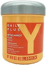 Profumi e cosmetici Maschera capelli al beta carotene - Freelimix Daily Plus Betacarot Plus Mask