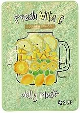 Profumi e cosmetici Maschera per la pelle stanca - SNP Fresh Vita C Jelly Mask