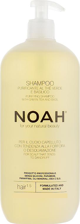 Shampoo al tè verde e basilico - Noah