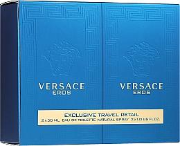 Versace Eros - Set (edt 30ml + edt 30ml)  — foto N1
