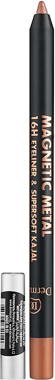 Eyeliner - Dermacol Magnetic Metal 16H Eyeliner