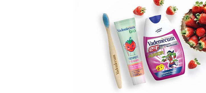 Acquistando qualsiasi prodotto Vademecum, ricevi in regalo uno spazzolino da denti per bambini a tua scelta