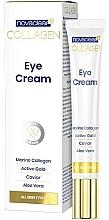 Profumi e cosmetici Crema contorno occhi al collagene - Novaclear Collagen Eye Cream