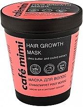Profumi e cosmetici Maschera per la crescita dei capelli - Cafe Mimi Mask