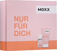 Profumi e cosmetici Mexx Whenever Wherever For Her - Set (edt/15ml + sh/gel/50ml)