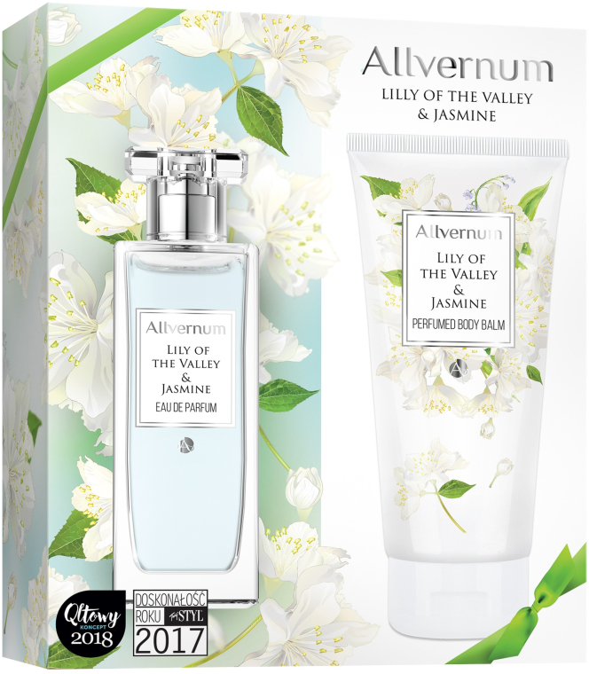 Allvernum Lily Of The Valley & Jasmine - Set (edp/50ml + b/lot/200ml)