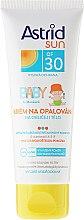 Profumi e cosmetici Crema solare per bambini - Astrid Sun Baby Cream SPF 30
