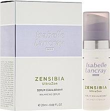 Profumi e cosmetici Siero viso riequilibrante - Isabelle Lancray Zensibia Ultrazen Serum Equilibrant