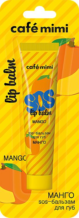 "Balsamo labbra ""Mango"" - Cafe mimi Sos Lip Balm Mango"