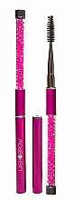 Profumi e cosmetici Spazzola per ciglia e sopracciglia, rosa - Lash Brow Pink