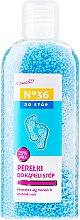 Profumi e cosmetici Granuli per piedi, con estratto di alghe e particelle di sale - Pharma CF No36