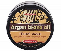 Profumi e cosmetici Olio abbronzante - Vivaco Sun Argan Bronze Oil Tanning Butter