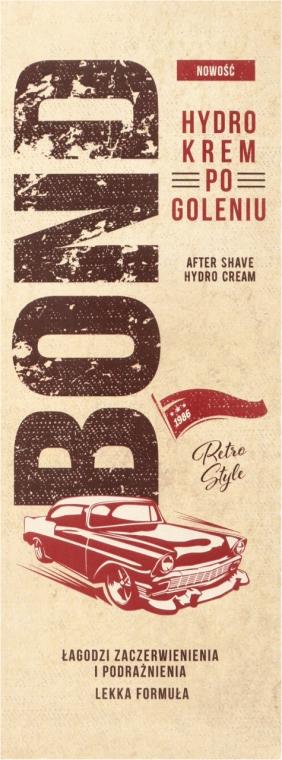 Crema dopobarba idratante - Bond Retro Style After Shave Hydro Cream — foto N2