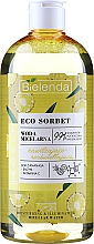 """Profumi e cosmetici Acqua micellare """"Idratante e illuminante"""" - Bielenda Eco Sorbet Moisturizing&Illuminating Micellar Water"""