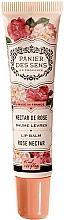"Profumi e cosmetici Balsamo labbra al burro di karité ""Rose"" - Panier des Sens Lip Balm Shea Butter Rose Nectar"