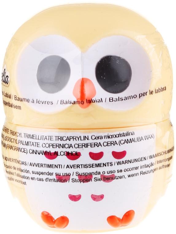 "Balsamo labbra ""Gufo"", giallo - Martinelia Owl Lip Balm"