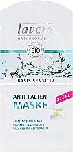 Profumi e cosmetici Maschera facciale BIO con coenzima Q10 - Lavera Basis Sensitiv Anti-Ageing Mask Q10 (mini)