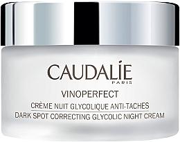 Profumi e cosmetici Crema da notte all'acido glicolico - Caudalie Vinoperfect Dark Spot Correcting Glycolic Night Cream