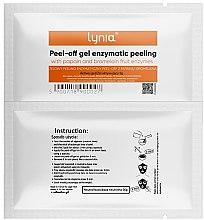 Profumi e cosmetici Maschera viso enzimatica - Lynia Peel Off Gel Enzymatic Peeling