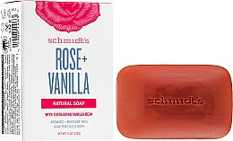 Profumi e cosmetici Sapone - Schmidt's Naturals Bar Soap Rose Vanilla