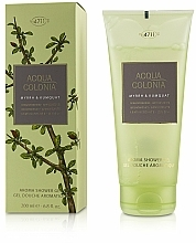 Profumi e cosmetici Maurer & Wirtz 4711 Acqua Colonia Myrrh & Kumquat - Gel doccia