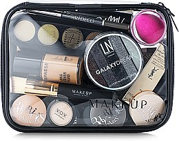 "Profumi e cosmetici Beauty case trasparente ""Visible Bag"" (senza cosmetici) 20x15x6cm - MakeUp"