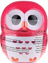 """Profumi e cosmetici Balsamo labbra """"Gufo"""" rosso - Martinelia Owl Lip Balm"""