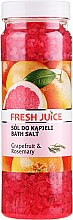 Profumi e cosmetici Sale per il bagno - Fresh Juice Grapefruit and Rosemary