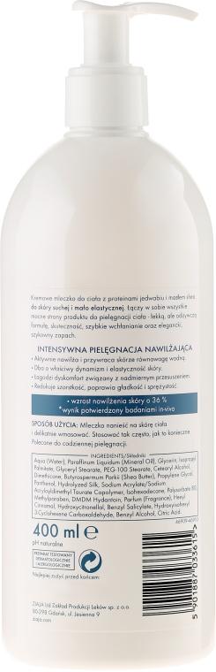 Latte corpo idratante con proteine di seta - Ziaja Silk Body Milk — foto N2
