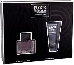 Profumi e cosmetici Antonio Banderas Seduction in Black - Set (edt/50ml + a/sh/b/50ml)