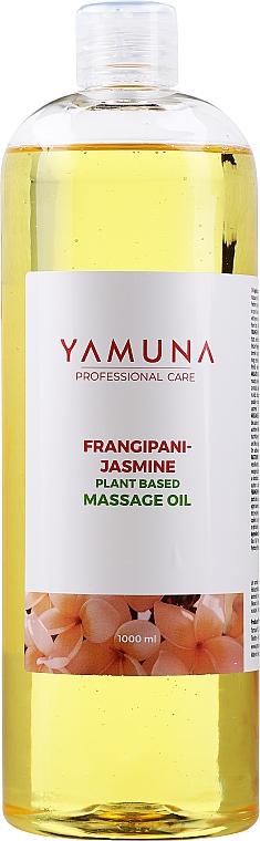 "Olio da massaggio ""Frangipani-gelsomino"" - Yamuna Frangipani-Jasmine Plant Based Massage Oil"