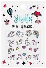 Profumi e cosmetici Adesivi per unghie - Snails Nail Stickers (1pz)