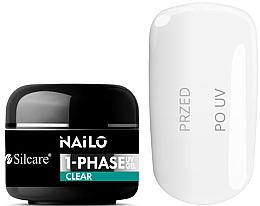 Profumi e cosmetici Gel per unghie - Silcare Nailo 1-Phase Gel UV Clear