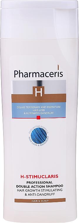 Shampoo a doppia azione - Pharmaceris H-Stimupeel Professional Double Action Shampoo Hair Growth Stimulating & Anti-Dandruff — foto N1