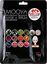 """Profumi e cosmetici Maschera + siero """"Rigenerazione delle mani con proteine della seta"""" - Beauty Face Mooya Bio Organic Treatment Mask + Serum"""
