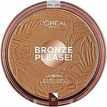Profumi e cosmetici Bronzer viso - L'Oreal Paris La Terra Joli Bronze Bronzer