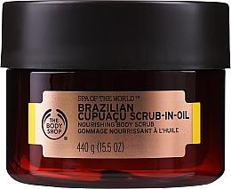 Profumi e cosmetici Scrub all'olio - The Body Shop Brazilian Cupuacu Scrub-in-oil
