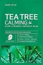 Profumi e cosmetici Maschera lenitiva dell'albero del tè - Some By Mi Tea Tree Calming Glow Luminous Ampoule Mask