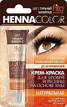 Profumi e cosmetici Crema-tinta per le sopracciglia e le ciglia a base di henné - Fito cosmetica Henna Color