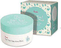 Profumi e cosmetici Maschera all'argilla con mela e menta - Prreti Tok Tok Ade Clay Mask Smooth Apple Mint