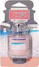 Profumi e cosmetici Profumo per auto - Yankee Candle Car Jar Ultimate Pink Sands