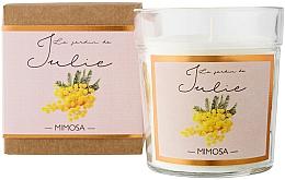 "Profumi e cosmetici Candela profumata ""Mimosa"" - Ambientair Le Jardin de Julie Mimosa"