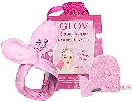 Profumi e cosmetici Set - Glov Spa Bunny Together Set (glove/1 + mini/glove/1 + headband/1 + bag/1)